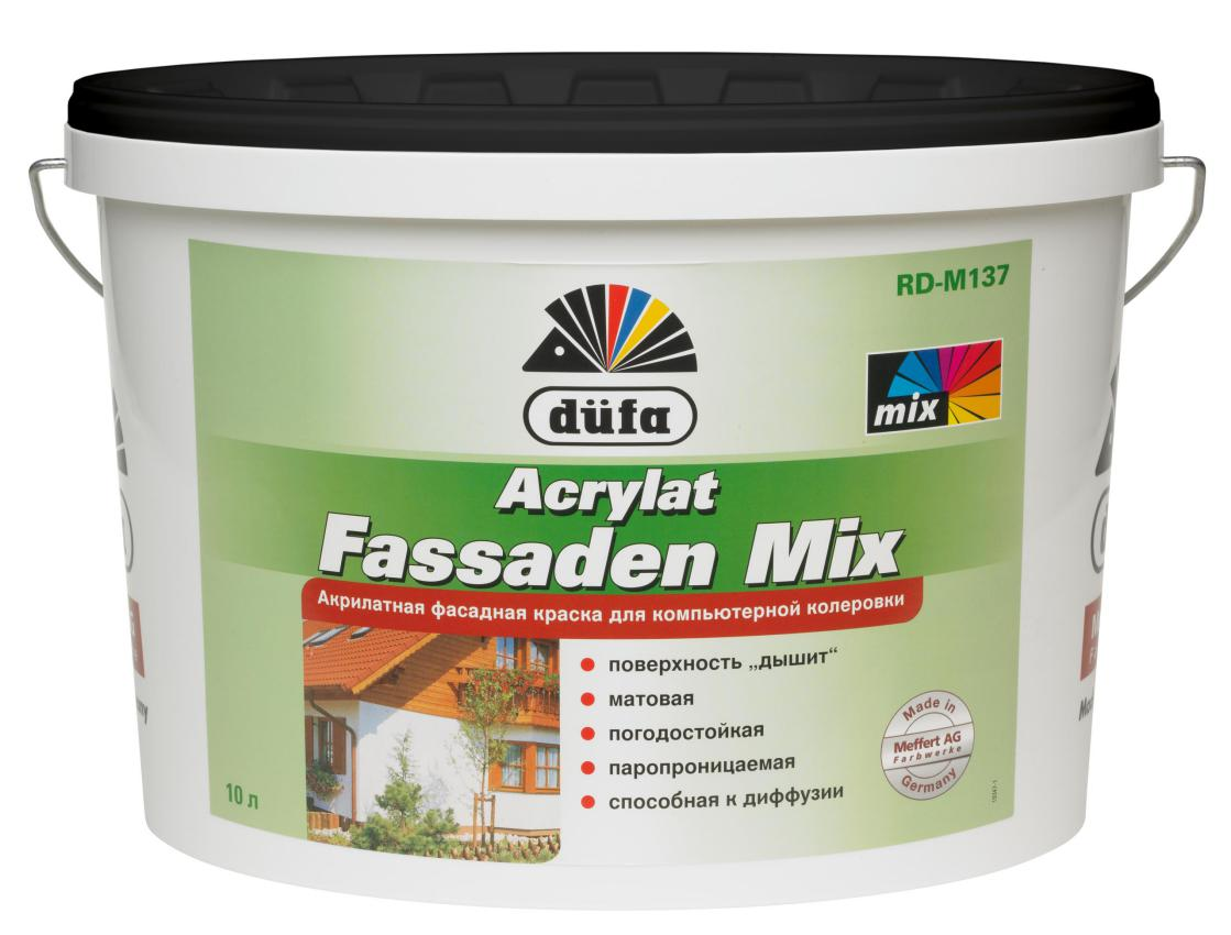 acrylat fassaden mix